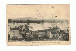 2113  Dep 78 Carriéres Sur Seine Crues 28 01 1910 - France