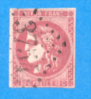 France 1870 : Cérès, émission Dite De Bordeaux N° 49 Oblitéré - 1870 Bordeaux Printing