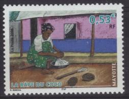 Mayotte N° 183 Neuf ** - Râpe Du Coco - Mayote (1892-2011)