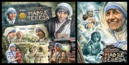 MOZAMBIQUE 2012 - Mother Teresa, Children - Sc 2718 + 2748 - Ohne Zuordnung