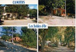 CP - PHOTO - CAMIERS - CAMPING CLUB DE FRANCE - CAMPING CARAVANIG - VILLAGE DE VACANCES - LES SABLES D'OR - 62201 - CIM - Frankrijk