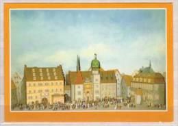 Halle , Halloren Und Salinenmuseum , Festzug Der Halloren Um 1850 - Halle (Saale)
