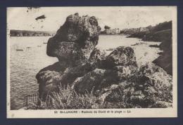 St Lunaire Rocher De David Et La Plage - Saint-Lunaire