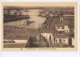 CASABLANCA  Les Terra-pleins De La Douane - Casablanca