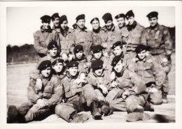 """MILITARI  _ (  Genieri  ) -  Esercito Italiano - Foto """"GAVINELLI - Bellinzago """" - Formato  7,5 X 10,5 Cm - Guerra, Militari"""