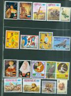 Haute Volta  Lot De 18 Timbres  - Az11203 - Upper Volta (1958-1984)