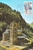 Carte-Maximum ANDORRE N°Yvert 276 / Eglise Romane - Cartoline Maximum