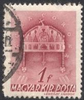 Hungary,  1 F. 1941, Sc # 578, Mi # 665, Used - Hungary