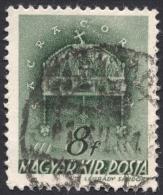 Hungary,  8 F. 1941, Sc # 582, Mi # 669, Used - Hungary