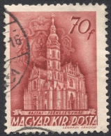 Hungary,  70 F. 1942, Sc # 593, Mi # 677, Used - Hungary