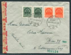 1941 Hungary Sopron German OKW Censor Brief - Wien Austria Deutsches Reich