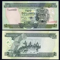 ISOLA SALOMON (SOLOMON ISLANDS)  : 2 Dollars - 1997 - P18 - UNC - Isola Salomon