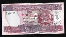 ISOLA SALOMON (SOLOMON ISLANDS)  : 10 Dollars - P15 - 1986 - UNC - Isola Salomon