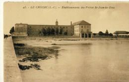 CP, 44, Le Croisic, Etablissements Des Frères St-Jean-de-Dieu, Dos Simple,, Vierge - Le Croisic
