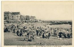 CP, 44, Le Croisic, Sur La Plage De Port-Lin à Marée Basse, Vierge - Le Croisic