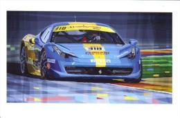 Ferrari 458 Challenge 2012  - Team Ukraine  -  Art Carte Par Yuriy Shevchuk  -  CP - Motorsport