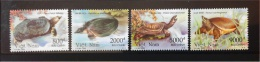 Vietnam Turtles - 2002 Issue Withdrawn And Rare - Mint NH And VF - Turtles