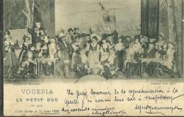 67 CPA Strasbourg Theatre Vogesia Le Petit Duc 1900 - Strasbourg