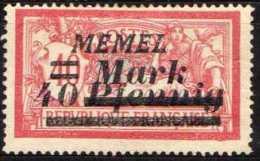 Memel 1922 Mi 119 * [190513L] @ - Memelgebiet