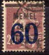 Memel 1921 Mi 35, Gestempelt [190513L] @ - Memelgebiet