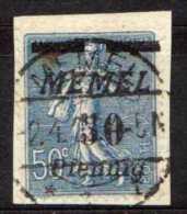 Memel 1922 Mi 61, Gestempelt [190513L] @ - Memelgebiet