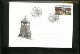 SLOVENSKO  -  SLOVACCHIA  -  FDC  -    UNESCO  VLKOLINEC - FDC