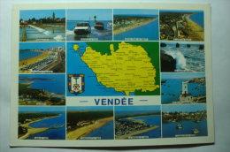 D 85 - Jard S Mer, Longeville S Mer, La Tranche S Mer, L'aiguillon S Mer, Talmont, St Gilles Croix De Vie, St Hilaire De - Francia