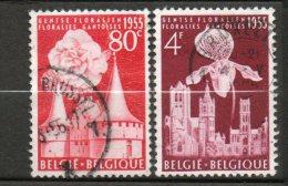 BELGIQUE  Floralies Gantoises 1955 N° 961-963 - Belgique