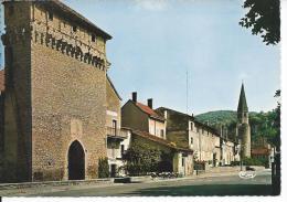 CREMIEU - Porte François 1er Et Eglise St Jean Baptiste - Crémieu