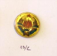 SFRJ YUGOSLAVIA - COAT OF ARMS, BLASON Blazon Bandera DRAPEAU Emblème D´État Country Staatsembleem Staatlich - Administrations
