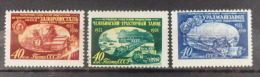 RUSSIA RUSSLAND USSR 1958 MI  2157-59 MLH*/** - Neufs