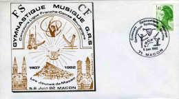 FRANCE  - MACON 1982 - GYMNASTIQUE RYTHMIQUE - TROMPETTE  -  TRUMPET - Musica