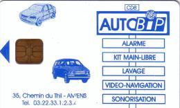 FRANCE CARTE A PUCE CHIP CARD AUTOBIP AMIENS SCHLUMBERGER UT - Colada De Coche