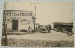 Ber Rechid - Coté De La Gare - Gd Café De France G. CATANIA - Maroc