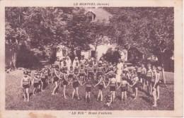 """73 LE MONTCEL, """"Le Nid"""" Home D'enfants, Groupe De Vacanciers - Autres Communes"""