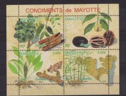 Mayotte N° 210 à 213 Neufs ** - Botanique - Condiments - Mayote (1892-2011)