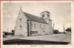 CPA 01 SANDRANS L' Eglise Dans Canton De CHATILLON Sur CHALARONNE - Francia
