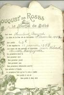 JOURNAL DE BEBE BOUQUET DE ROSES - Enfants
