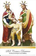 SS. COSMA E DAMIANO - SCIGLIO DI ROCCALUMERA - Mm. 86X136 - M - PR - Religione & Esoterismo