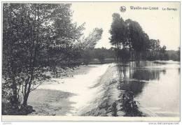 WANLIN ..-- HOUYET ..-- Le Barrage . Vers TERVUREN ( Mr Mme Marhy ) . Voir Verso . - Houyet