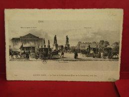 France, Ancien Paris, Pont De La Concorde Vers 1835, Non Circulé - Bridges