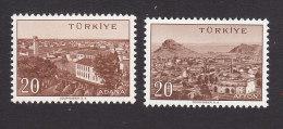 Turkey, Scott #1312, 1315, Mint Hinged, Views Of Turkey, Issued 1958 - 1921-... Republik