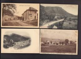 LOT De 35 CPA 48 - Villages - Sin Clasificación