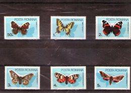 1985 - Papillons  Mi 4159/4164 Et Yv 3587/3592 MNH - 1948-.... Republiken
