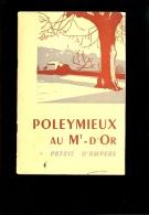 POLEYMIEUX AU MONT D'OR Patrie D'Ampère A. Vernay 1957 ( Publicité Camion BERLIET Voir 4eme Scan) - Rhône-Alpes