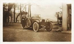 PHOTOGRAPHIE ANCIENNE : AUTOMOBILE VOITURE DECAPOTABLE TACOT CAR HOTCHKISS FORD BUGATTI CITROËN DELAGE LORRAINE-DIETRICH - Cars