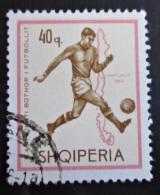 Briefmarke Albanien Fußball World Cup London 1966 Sport - World Cup