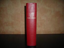 """Enghien: Livre \""""Histoire De La Ville D\´Enghien\"""" Par Ernest Mathieu - Historical Documents"""