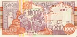 BILLETE DE SOMALIA DE 1000 SHILING DEL AÑO 1990  (BANKNOTE) SIN CIRCULAR-UNCIRCULATED - Somalia
