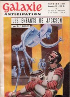 GALAXIE ANTICIPATION N° 39 (1ère Série) Février 1957. Voir Sommaire. - Livres, BD, Revues